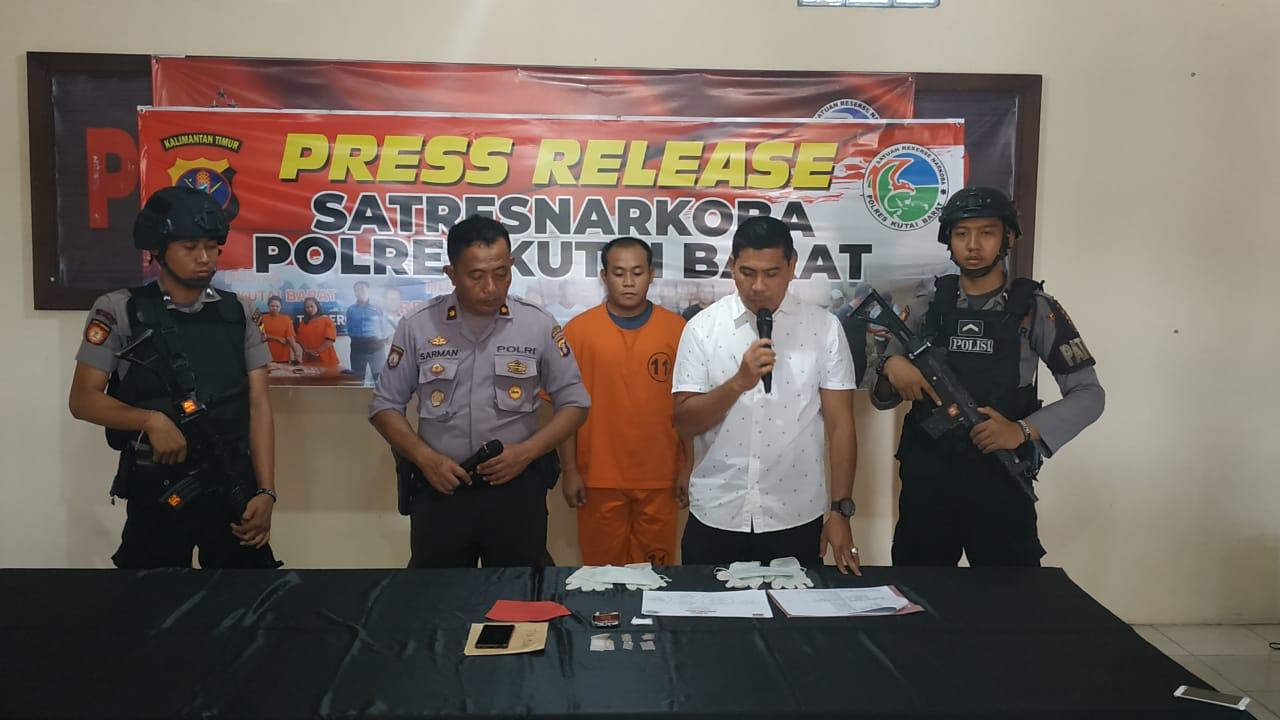 Ungkap 13 Kasus Peredaran Narkotika Sat Resnarkoba Polres Kubar Amankan 15 Tersangka